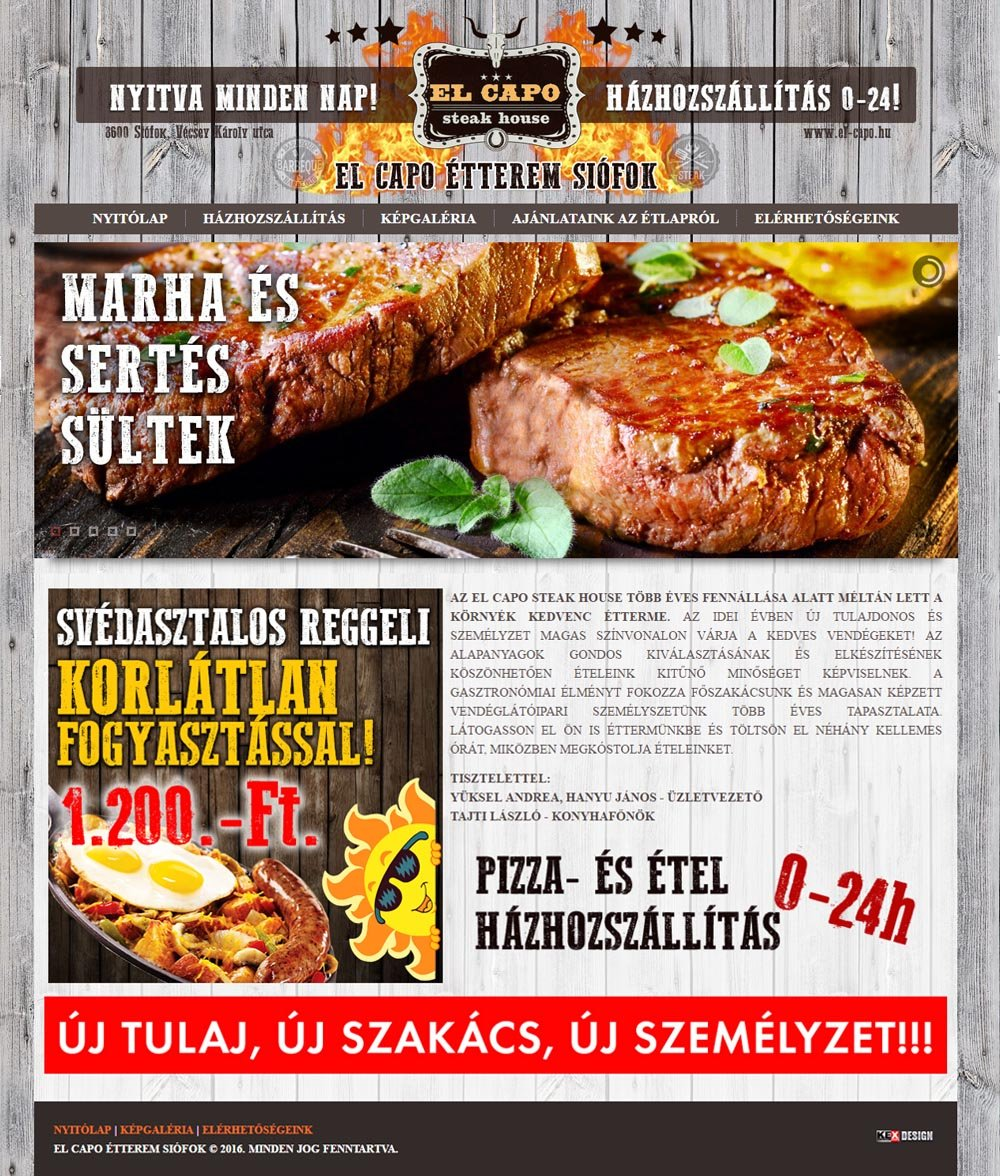 Steak House Siófok
